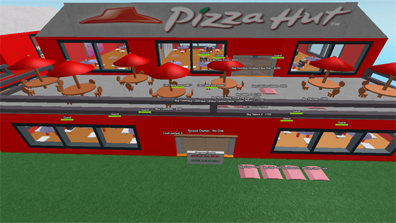 Roblox Pizza Hut Tycoon A Free Game By Supertigerkenneth5 Roblox