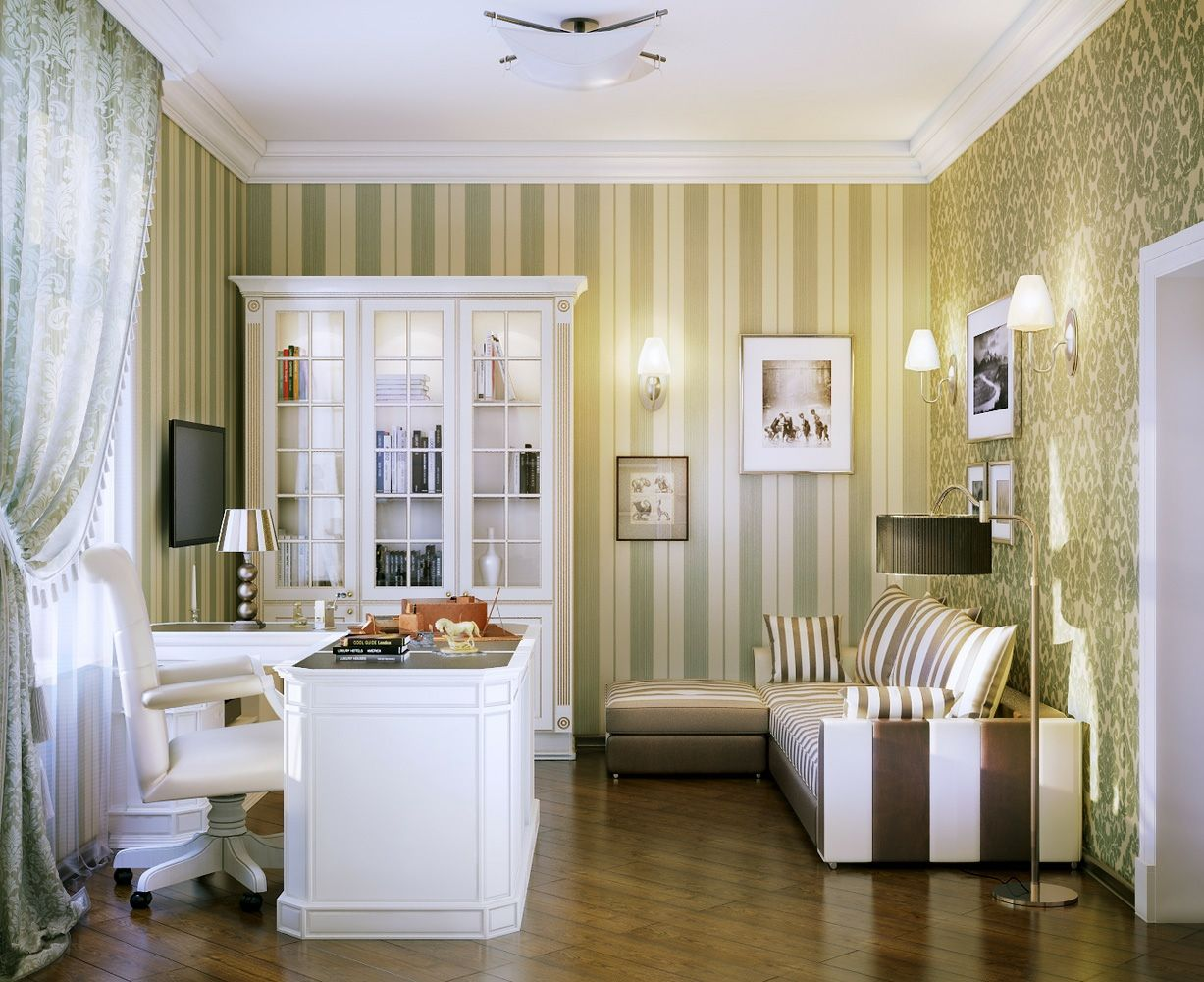 Office  workspace cool home and break room ideas luxury design idea with striped wall white furniture also best tenore images on pinterest mesas spaces rh