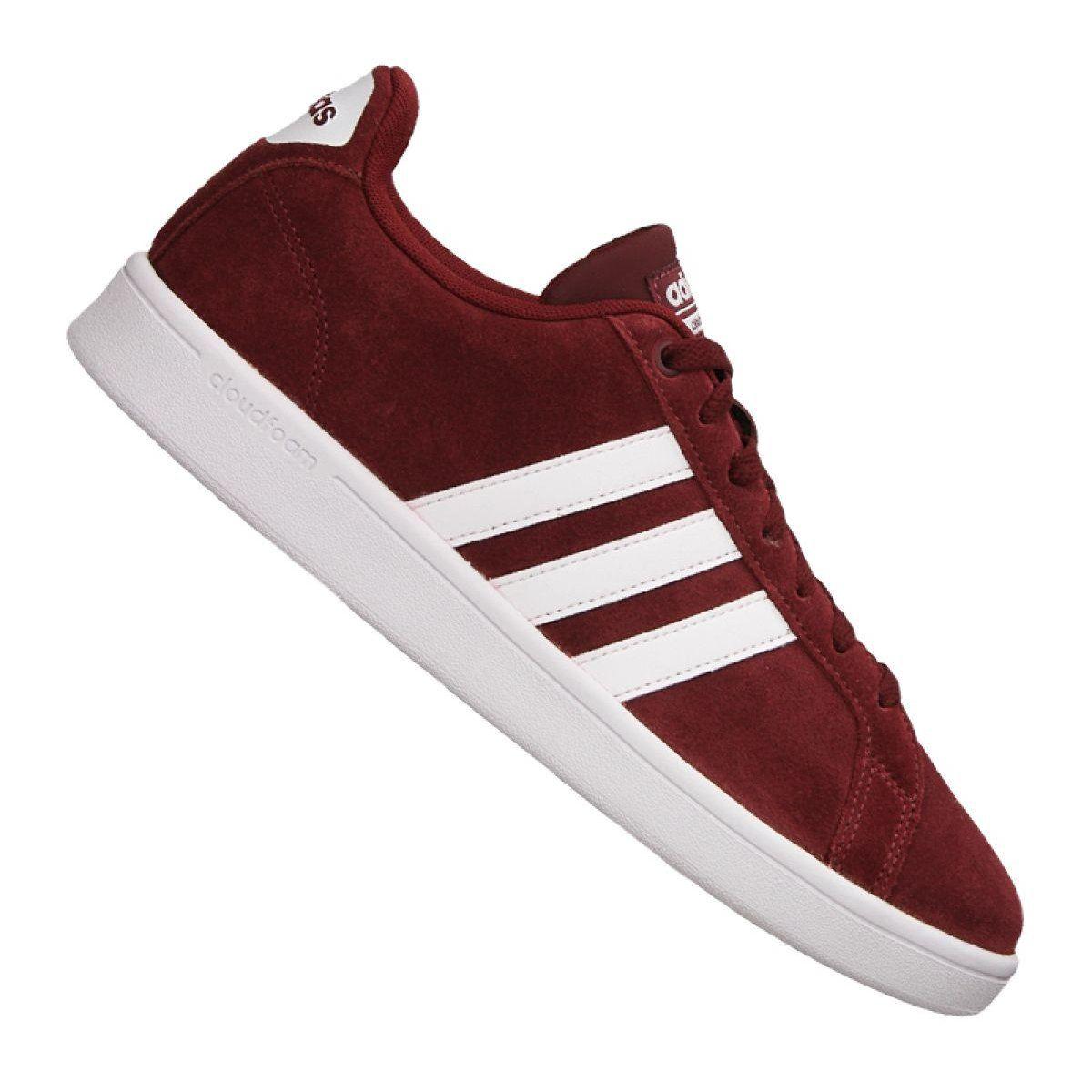 Buty Adidas Cloudfoam Adventage M Db0417 Czerwone Adidas Cloudfoam Red Adidas Adidas