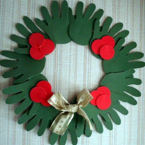 adornos navideos para hacer con nios