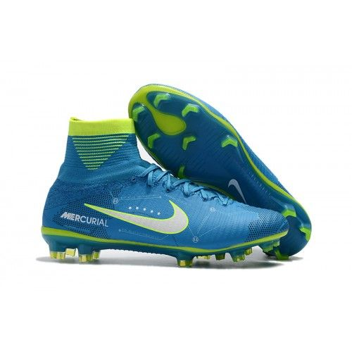 the latest 9ff88 2006b New Nike Mercurial Superfly V NJR FG Soccer Cleats Blue Green White