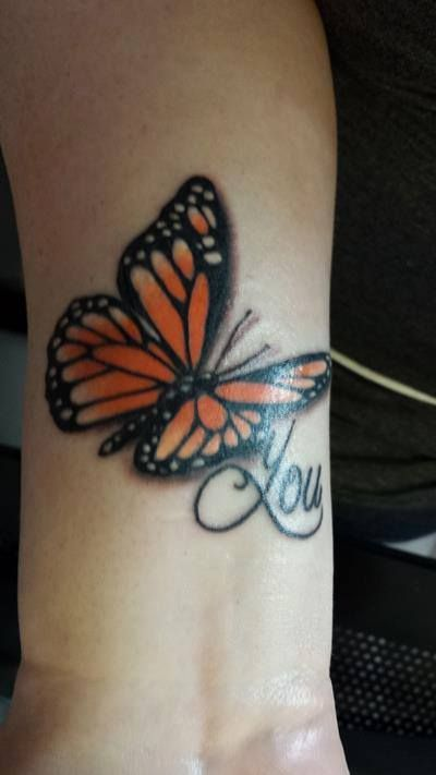 Butterfly You tattoo <3 Colleen Hoover - Slammed Series - ADORE Kiersten!