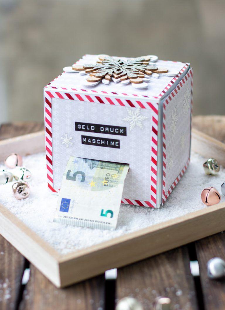 diy geld druck maschine weihnachten trytrytry. Black Bedroom Furniture Sets. Home Design Ideas