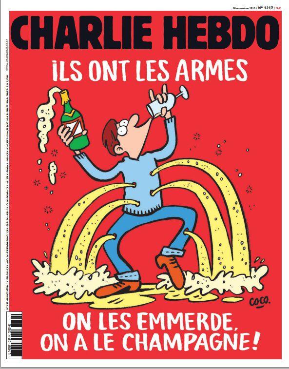 Charlie Hebdo, 17 nov 2015.