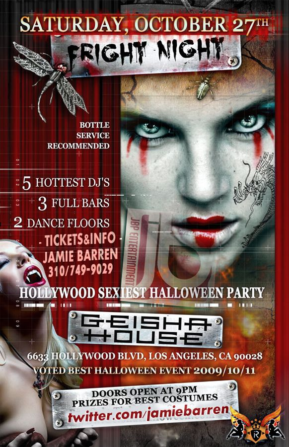 Pin On Best Halloween Hollywood Parties At Top La Nightclubs