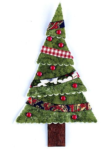 paper piecing christmas tree patterns