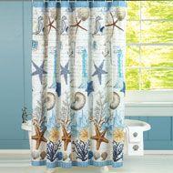 Antigua Seabreeze Shower Curtain