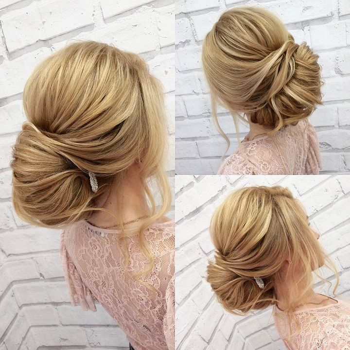 Gorgeous chignon hairstyle idea,bridal updo,unique hairstyles,wedding hairstyles for long hair,bridal hairstyles