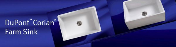 Dupont Corian Now Has A Farm Sink Ask For Model 690 Available In Four Colors