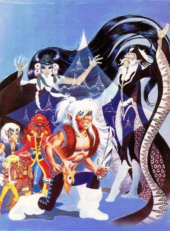 Elfquest: Winnowill! *shakes fist*
