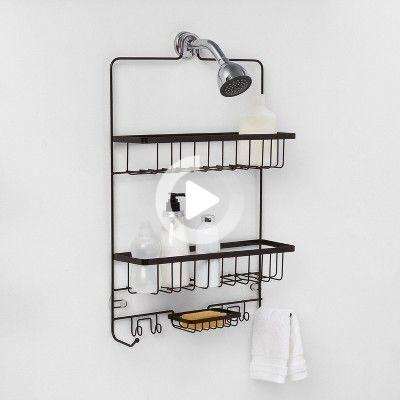 Photo of Grande salle de bains douche Caddy Bronze – Made By Design