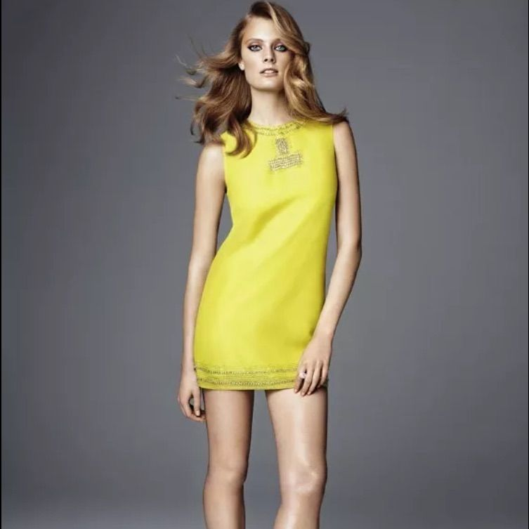Conscious Collection Stone Beaded Dress