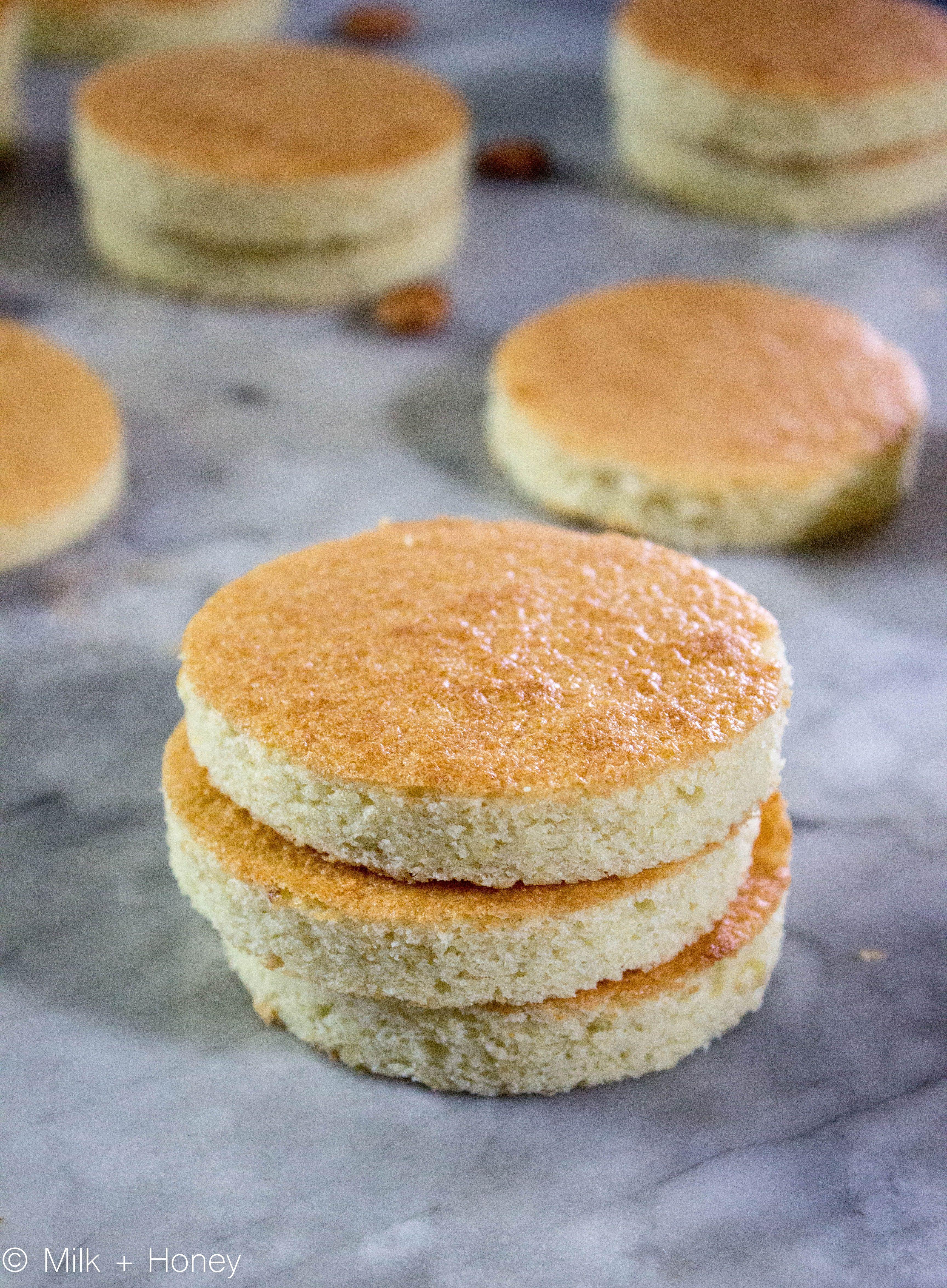 Joconde biscuit the mona lisa of cakes milk honey