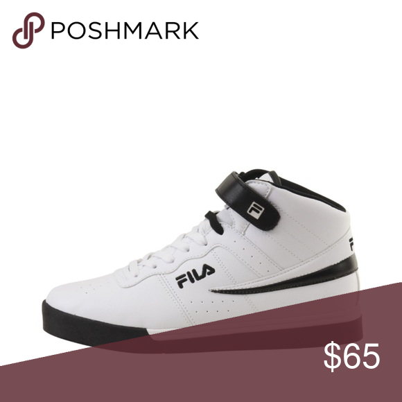 Fila Men's Vulc 13 Mid Plus Shoes Brand new with Box •Jump