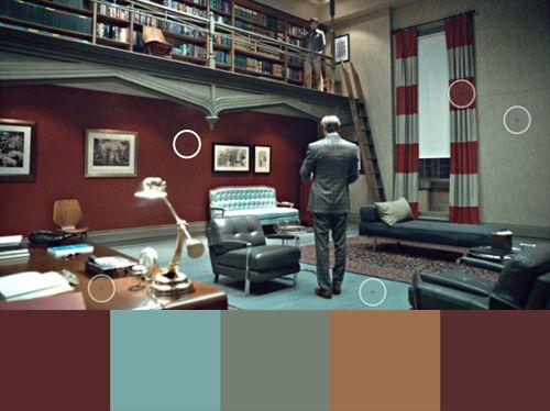 office color palettes. Hannibal\u0027s Office, A Colour Palette. Office Color Palettes
