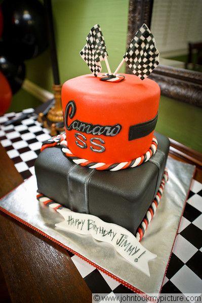 Men S Camaro Cake This Was For A Camaro Collector