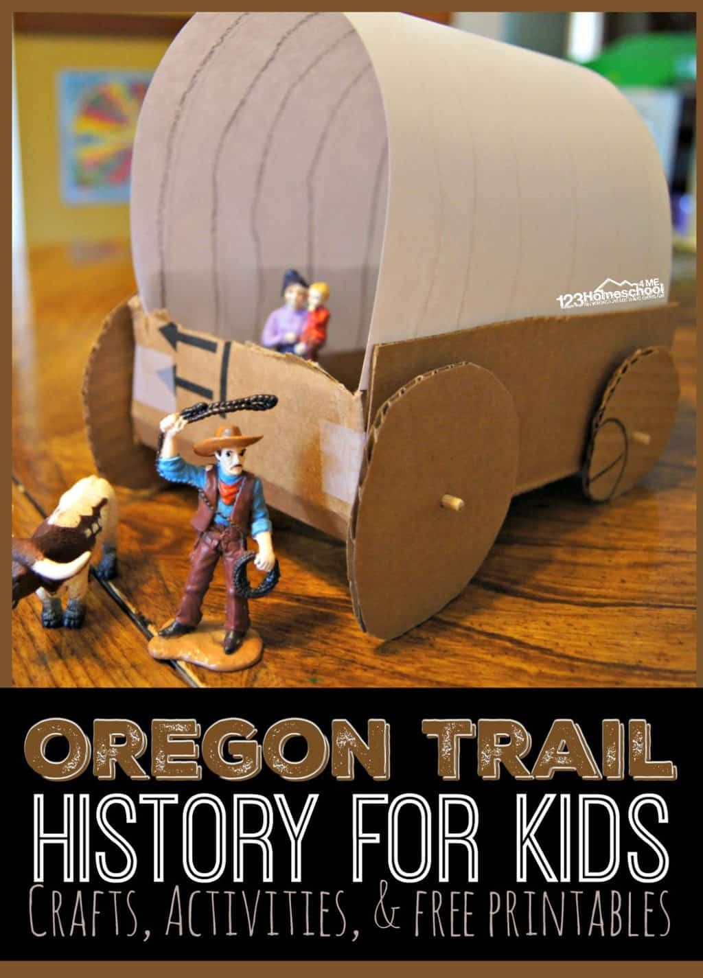 Oregon Trail History For Kids