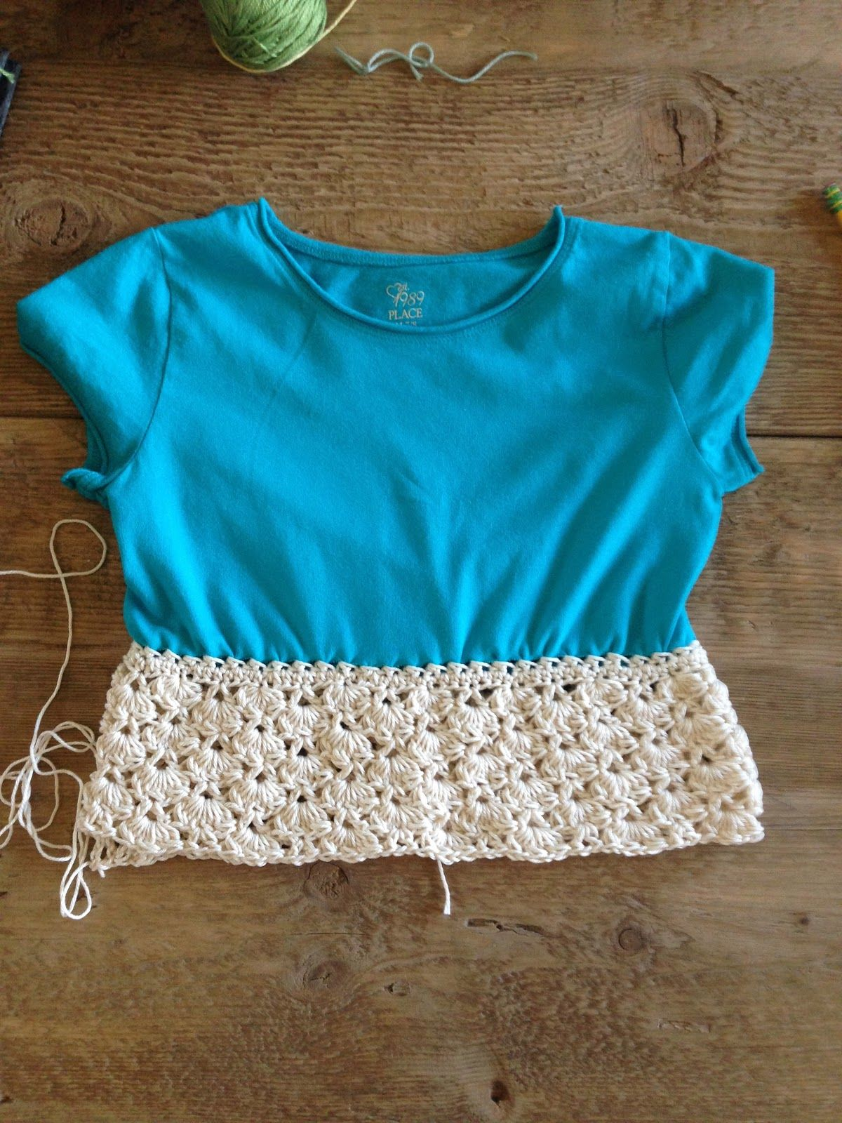 Annoos crochet world up cycled little girl t shirt dress free annoos crochet world up cycled little girl t shirt dress free pattern bankloansurffo Image collections