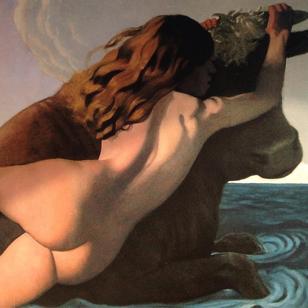 Rape of Europa - Felix Vallotton by delaburns