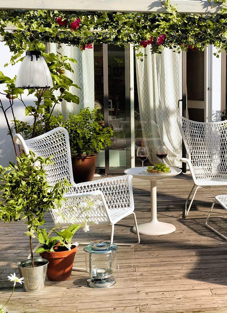 Decoración de terrazas con plantas Jardines Pinterest Ideas y Ikea - decoracion de terrazas con plantas