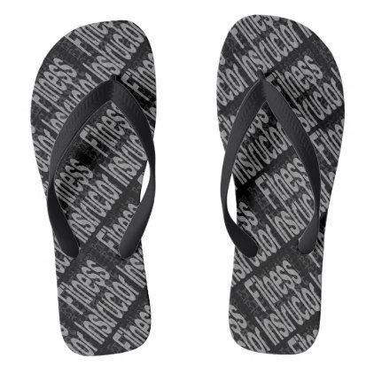 78d5c713f  Fitness Instructor Extraordinaire Flip Flops -  womens  shoes  womensshoes   custom  cool  Womens9WwShoes