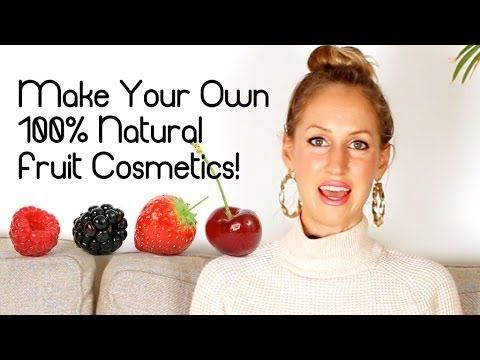 DIY Homemade Natural & Organic Makeup & Cosmetics VEGAN! Get past her intro to see how amazing this is. #organicmakeup