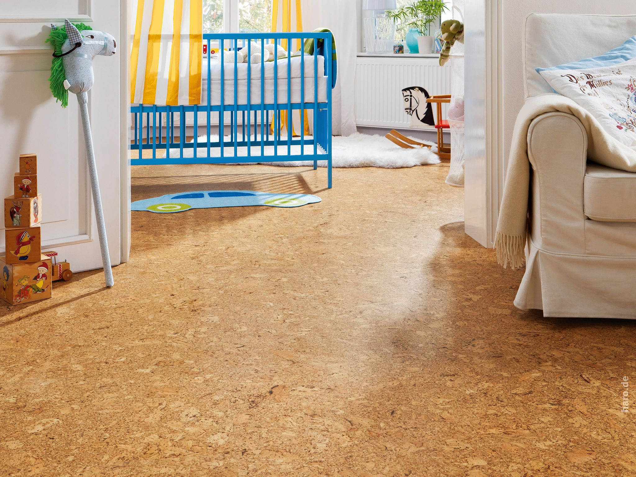 Korkboden kinderzimmer nachteile  HARO CORKETT Lagos natur | Cork Floor / Korkboden | Pinterest ...
