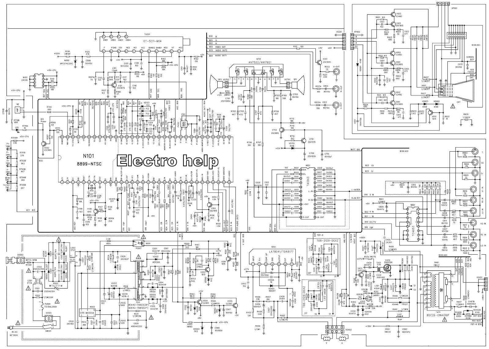 [DIAGRAM] Service Manual Schematic Diagrams Ittpact 80