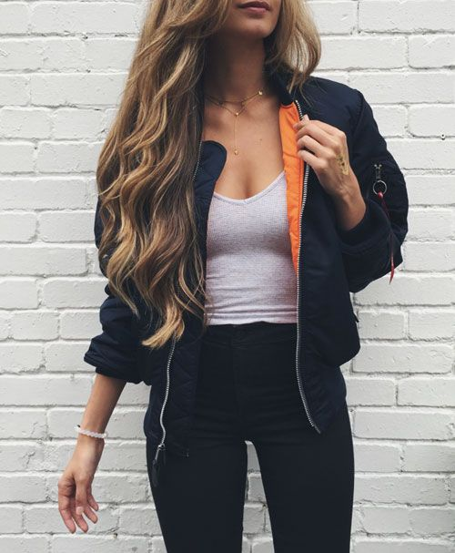 35 Ways to Rock The Bomber Jacket Trend | Clothes, Fashion and ...