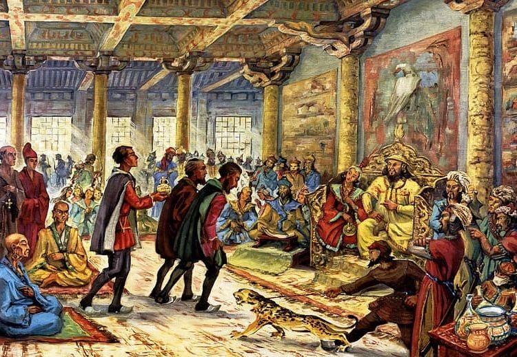 Resultado de imagen de La ciudad de l Kublai Kan y Marco Polo