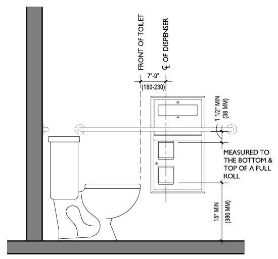 Image Result For Ada Paper Towel Dispenser Height Ada Toilet