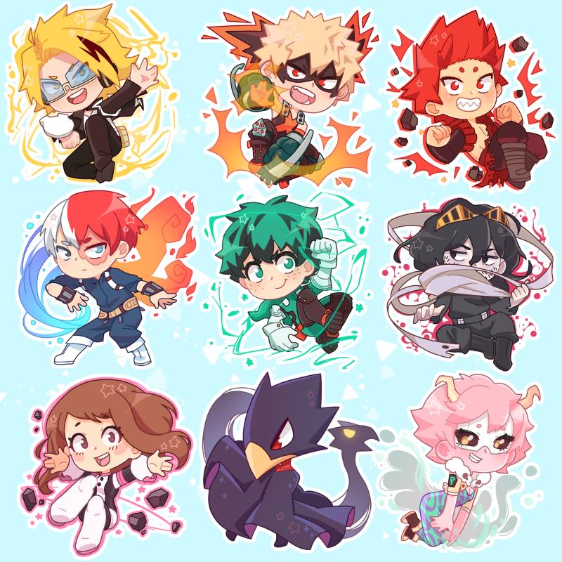 Boku No Hero Academy Charms Cute Anime Chibi Hero Wallpaper My Hero Academia Episodes