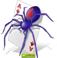 سوليتير العنكبوت اولى العاب الكمبيوتر التي ظهرت مع ظهور الحاسوب واحده من افضل العاب الورق والذكاء Solitaire Cards Solitaire Card Game Spider Solitaire