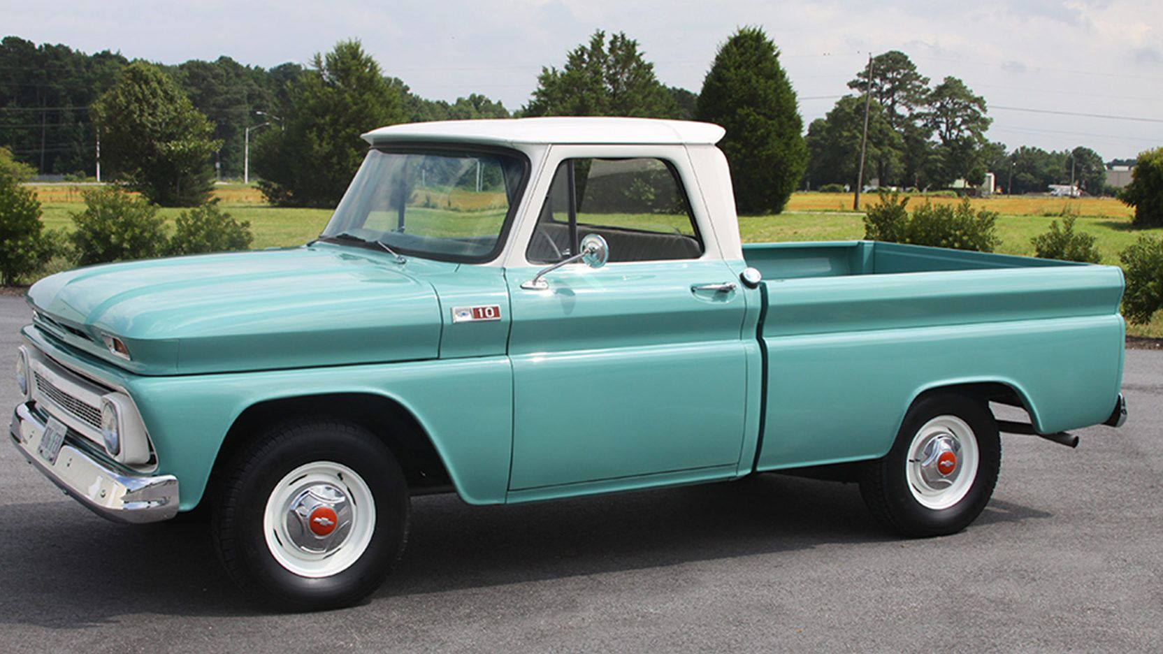 1965 Chevrolet C10 Pickup Presented As Lot F259 At Harrisburg Pa
