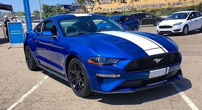 Lightning Blue 2018 Mustang 2017
