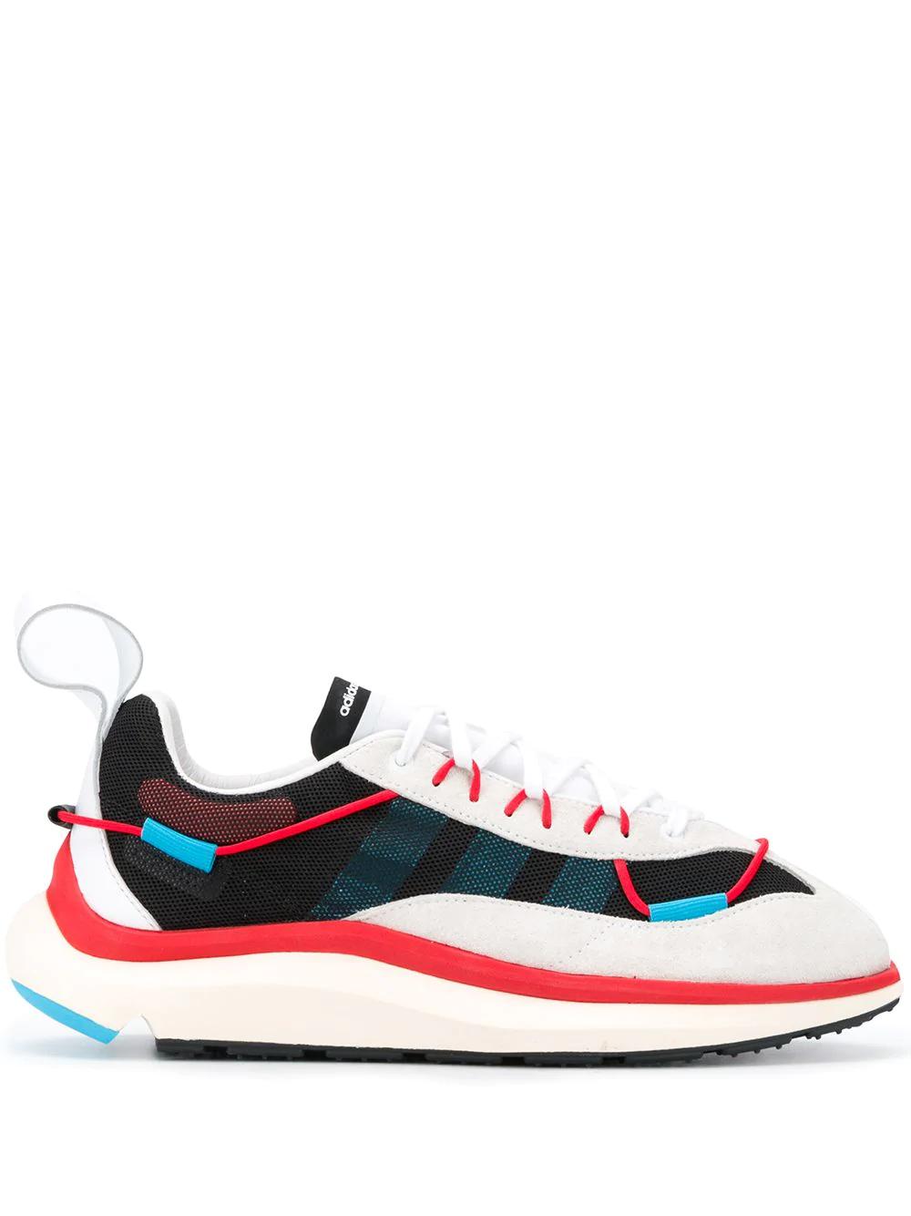 Y 3 Shiku Run Double Layer Mesh Sneakers Farfetch Sneakers Double Layer Y3 Sneakers