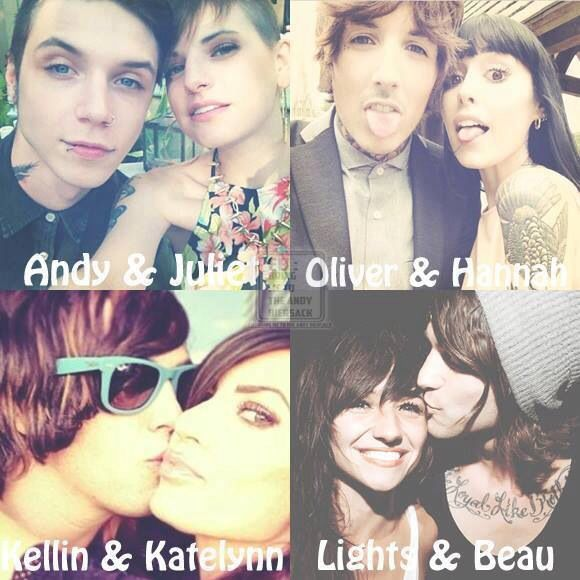 So cute I would give anything to have a relationship the way they all do but will never ever happen. I want my own andy or kellin