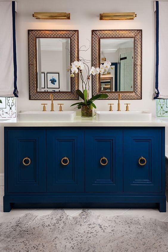 16 top bathroom jack and jill ideas  blue bathroom vanity