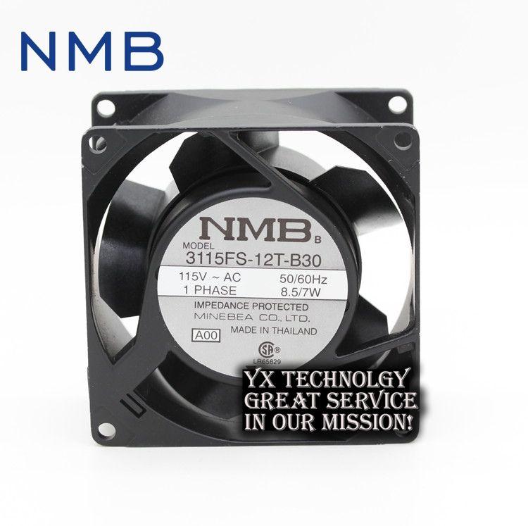 Nmb Original New 3115fs 12t B30 8038 8cm 115v 7w Industrial