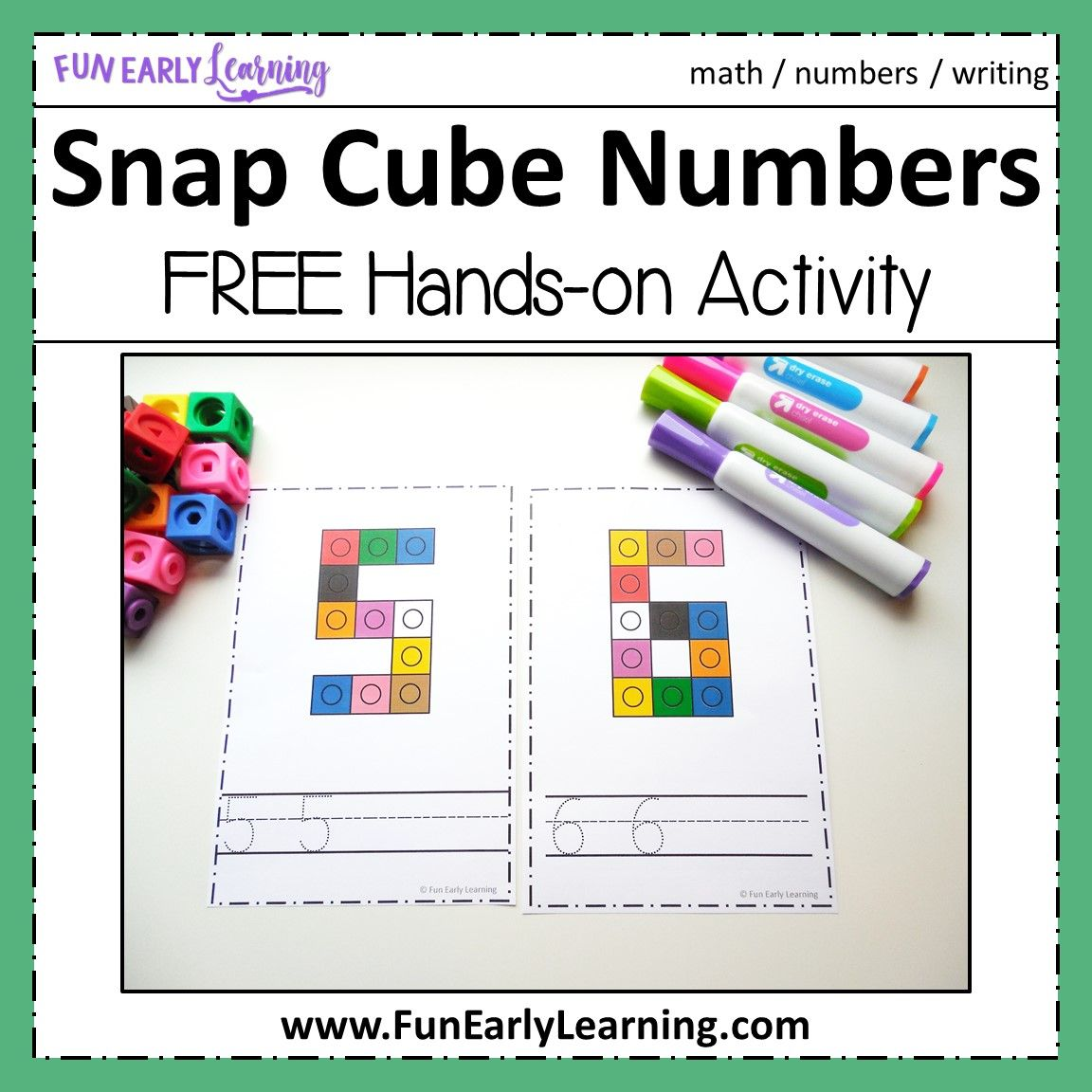 Snap Cube Numbers