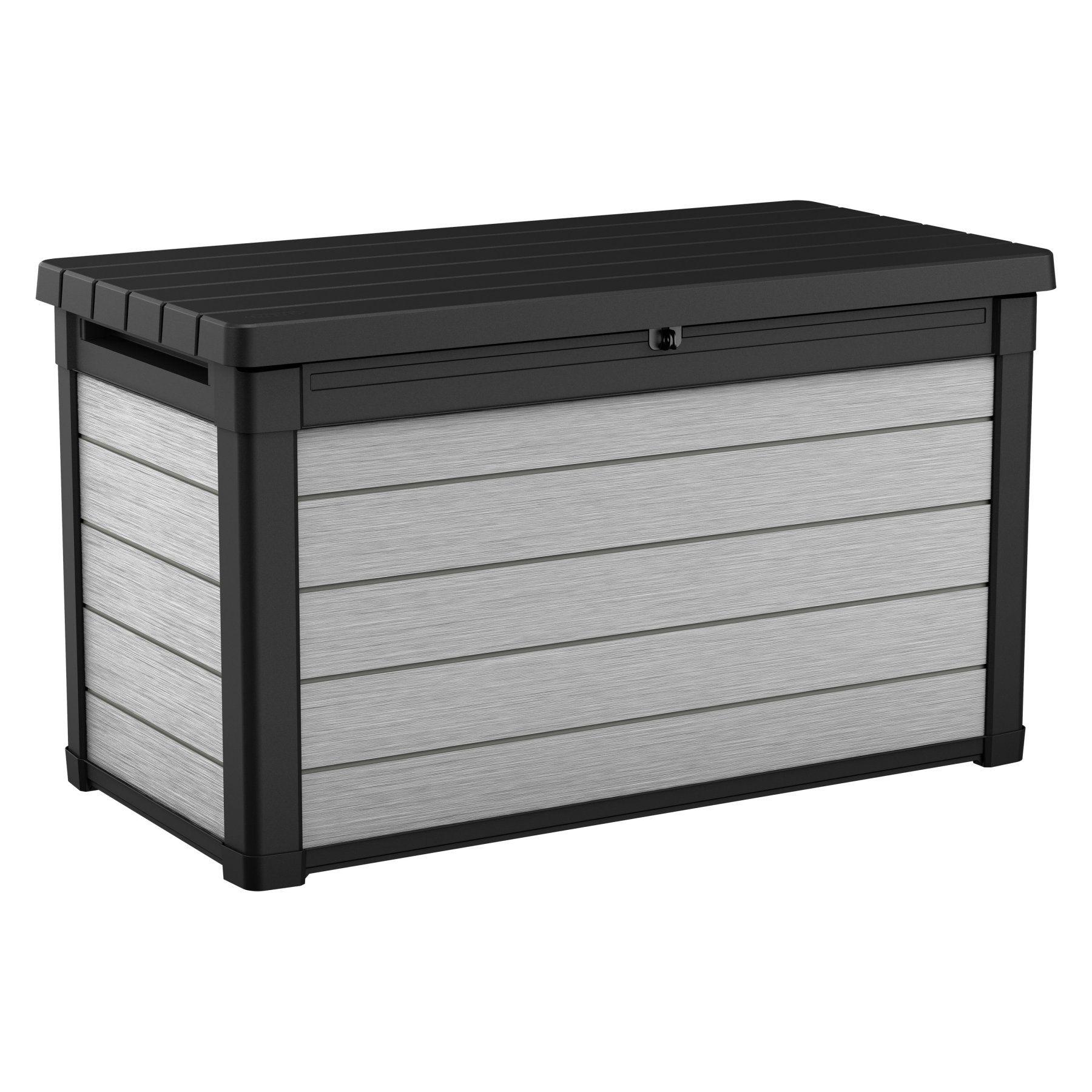 Keter Denali 100 Gallon Deck Box Patio Storage Deck Box