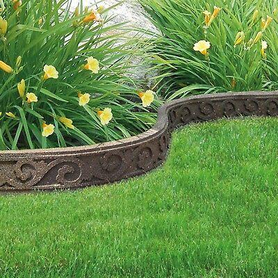Garden Edging Lawn Border Flexible Shape Wall Path Eco 400 x 300