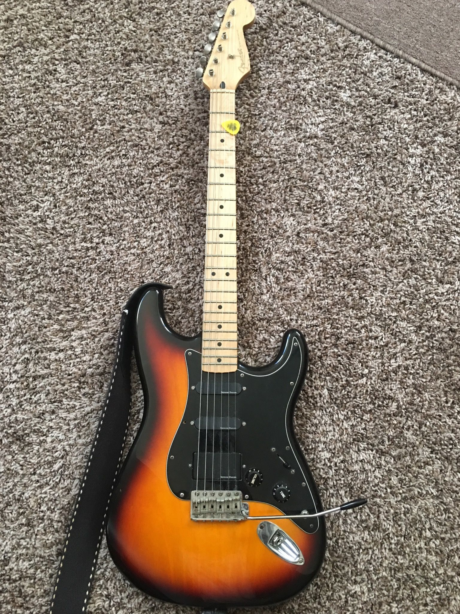 My 1995 MIM Fender Stratocaster  I bought it new in 95 and