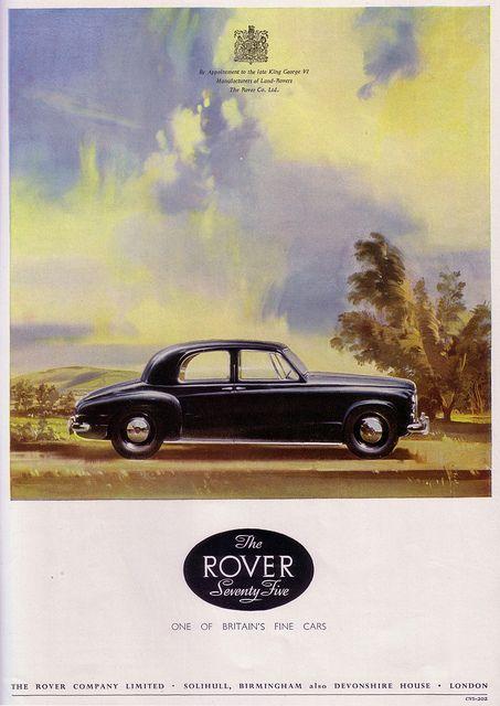 Rover seventy five 1953