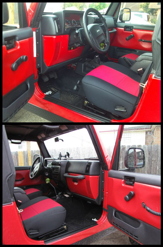 Tired Of Your Interior Change It Jeep Wrangler Forum Jeep Wrangler Interior Jeep Wrangler Tj Accessories Jeep Wrangler