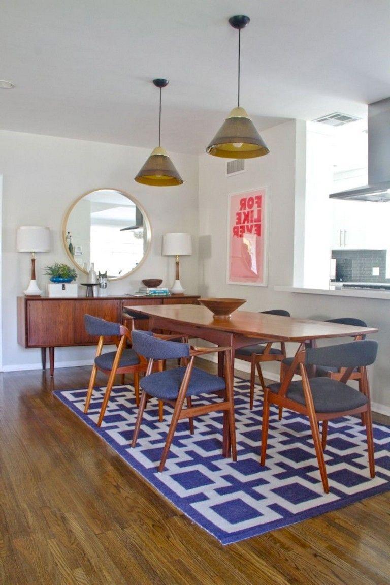35+ Beautiful & Simple Mid Century Dining Room Ideas ...