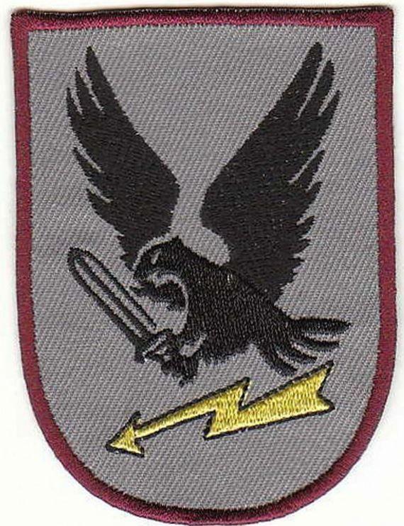Bundeswehr Aufnaher Fallschirmjager 4 Fernmelde Btl Luftbewegliche Division Army Patches Badge Military Patch