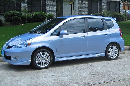 Blue Honda Fit Google Search My Blue Board Honda Jazz Honda