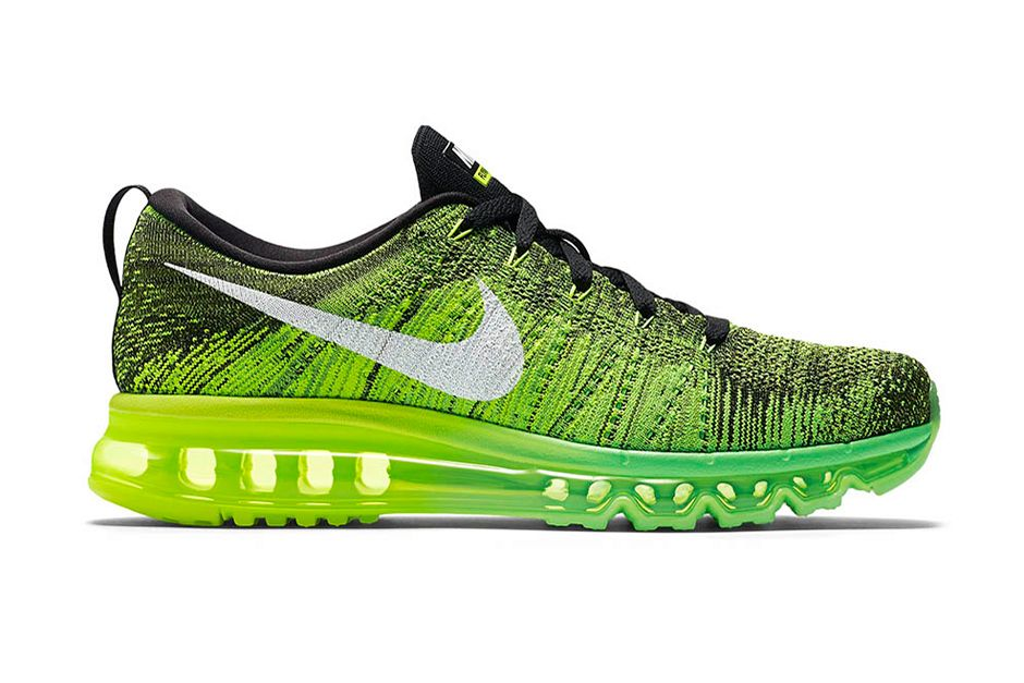 check out 56b73 0ddc6 ... wholesale nike flyknit air max voltage green c0ab3 eaf57