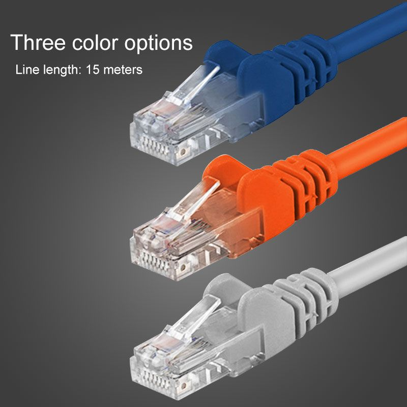 Click to Buy << 15m Patch Cable Cat6 RJ45 Connector 8P8C LAN ...